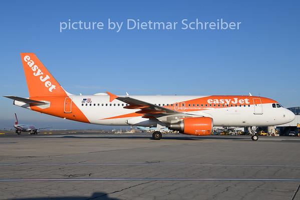 2020-03-10 OE-IZU Airbus A320 Easyjet Europe