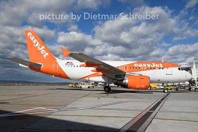2020-03-12 OE-LKQ Airbus A319 Easyjet Europe