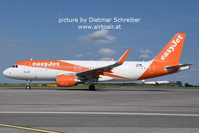 2021-08-20 OE-IZD Airbus A320 Easyjet Europe