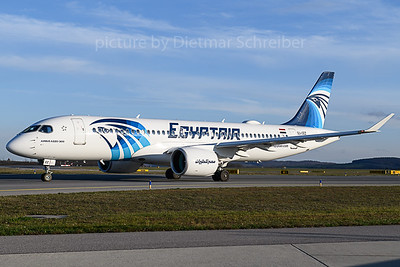 2019-11-14 SU-GEZ Airbus A220-300 Egypt Air