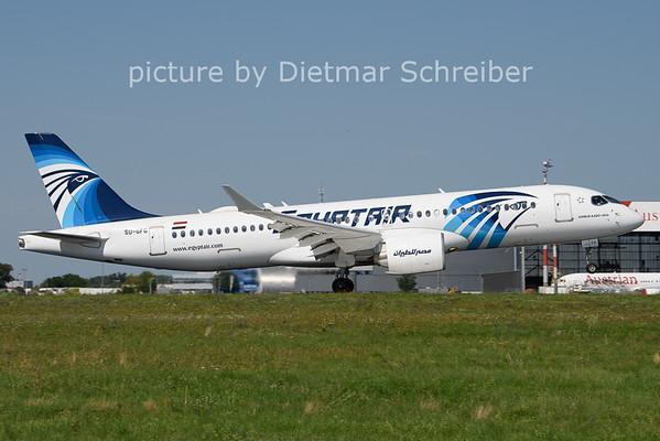 2021-08-10 SU-GFG Airbus A220-300 Egyptair