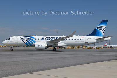 2021-06-05 SU-GFC Airbus A220-300 Egypt Air