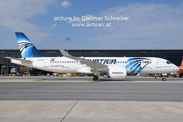 2021-08-20 SU-GFF Airbus A220-300 Egypt Air