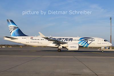 2020-11-21 SU-GFH Airbus A220-300 Egypt Air