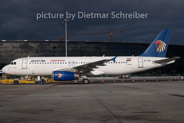 2008-02-07 SU-GBG AIrbus A320 Egypt Air