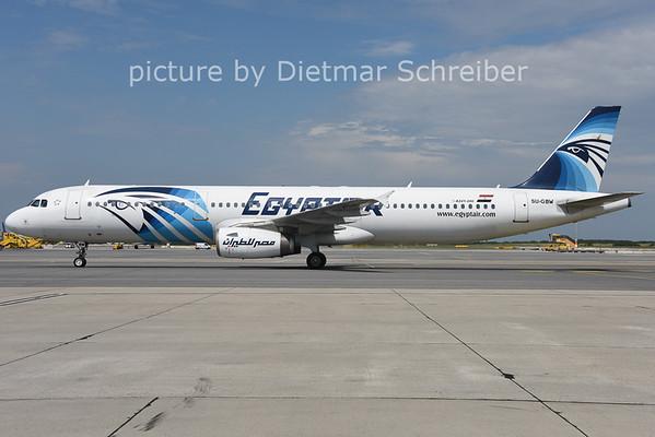 2014-07-25 SU-GBW AIrbus A321 Egypt Air
