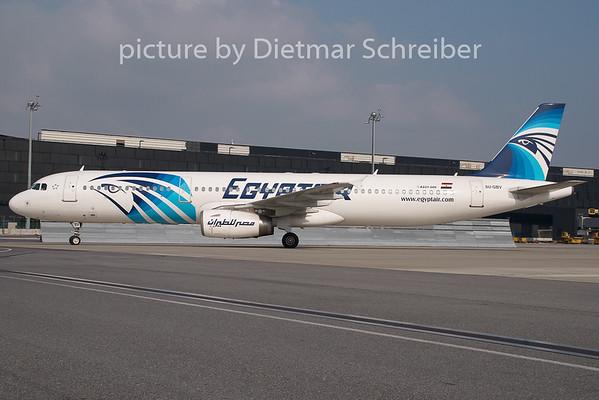 2009-09-18 SU-GBV Airbus A321 Egypt Air