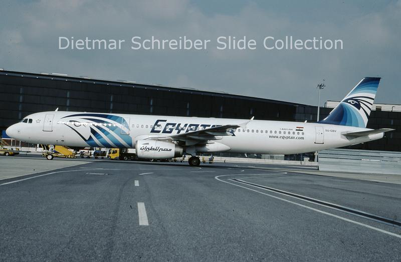 2009-10 SU-GBV Airbus A321-231 (c/n 715) Egypt Air
