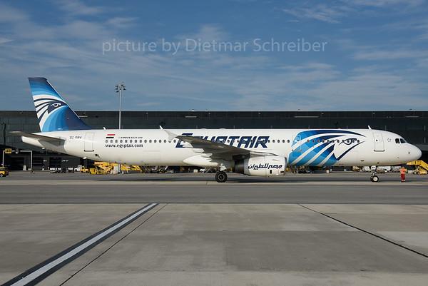 2016-09-30 SU-GBV Airbus A321 Egypt Air