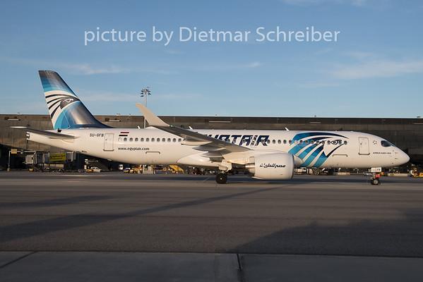 2019-12-20 SU-GFB Airbus A220-300 Egyptair