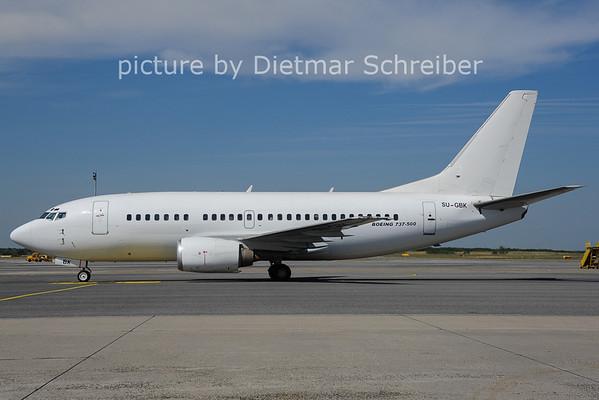 2014-07-04 SU-GBK Boeing 737-500 Egypt Air