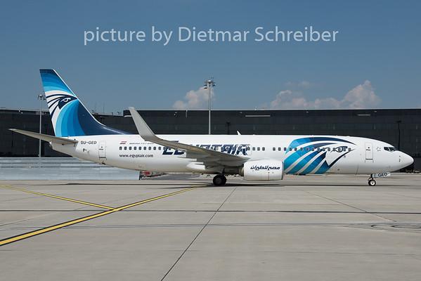 2015-08-04 SU-GED Boeing 737-800 Egypt Air
