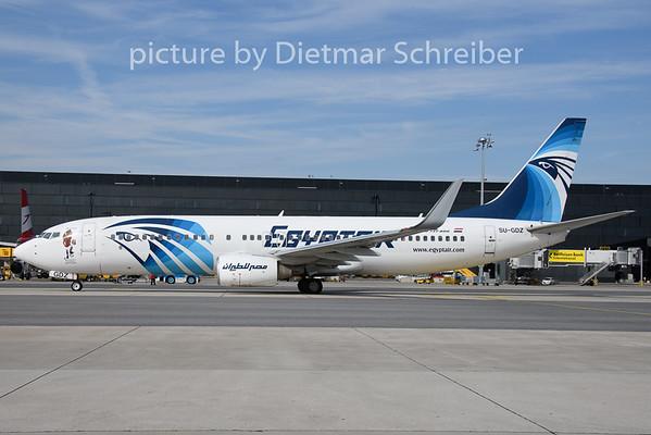 2019-08-15 SU-GDZ Boeing 737-800 Egypt Air
