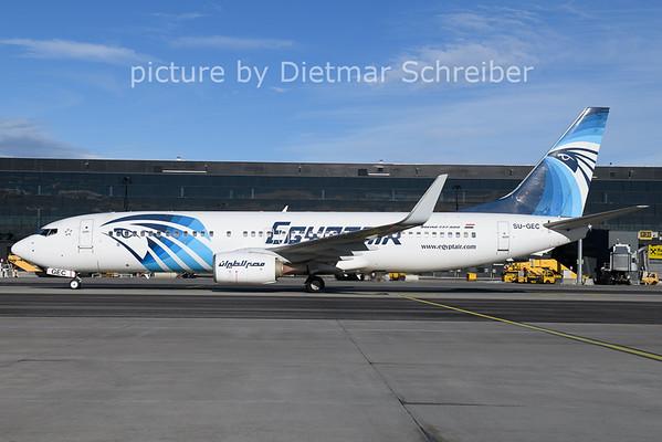 2021-01-22 SU-GEC Boeing 737-800 Egypt Air