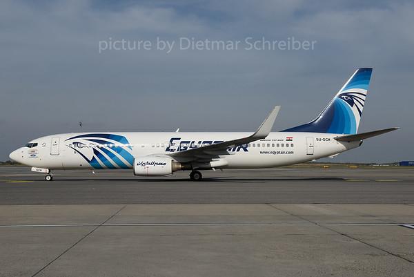 2016-10-14 SU-GCM Boeing 737-800 Egypt Air
