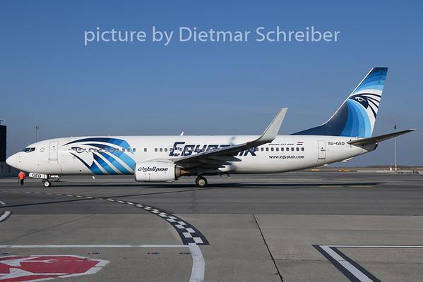 2019-02-15 SU-GED Boeing 737-800 Egypt Air