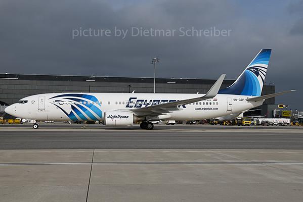 2019-10-18 SU-GEF Boeing 737-800 Egyptair