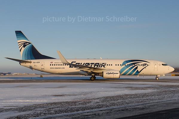2017-01-08 SU-GDY Boeing 737-800 Egypt Air