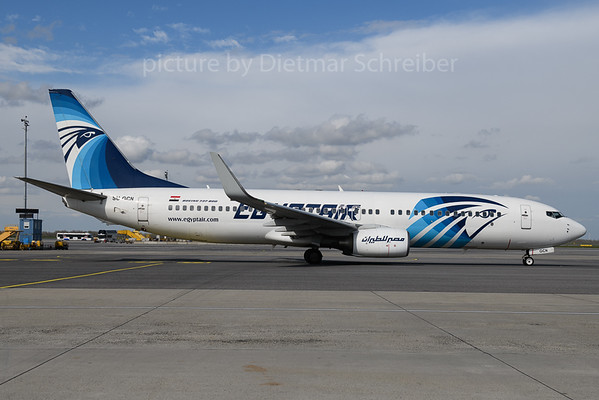 2018-04-10 SU-GCN Boeing 737-800 Egypt Air