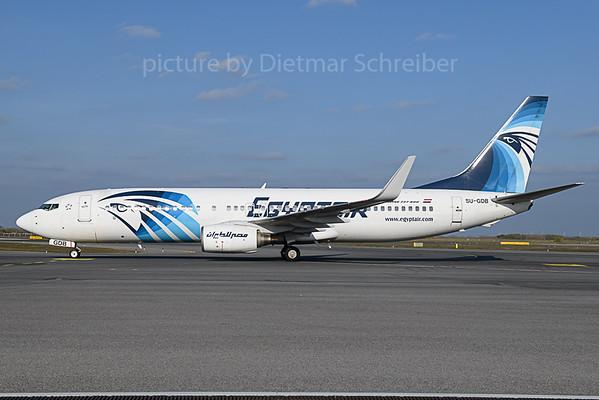 2019-11-01 SU-GDB Boeing 737-800 Egyptair