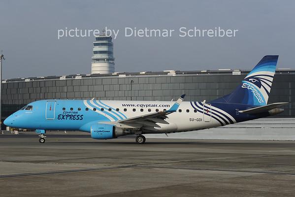2014-02-05 SU-GDI Embraer 170 Egypt Air