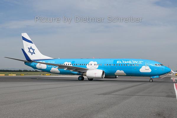 2019-06-18 4X-EKM Boeing 737-800 El Al