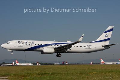 2018-08-13 4X-EHB Boeing 737-900 El Al