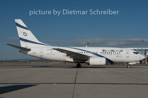 2015-09-21 4X-EKD Boeing 737-700 El Al