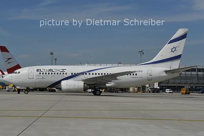 2011-09-02 4X-EKD Boeing 737-700 El Al