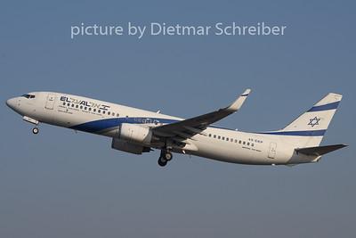 2019-01-21 4X-EKP Boeing 737-800 El Al