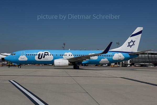 2017-07-20 4X-EKM Boeing 737-800 Up
