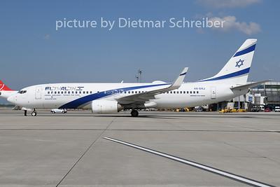 2019-05-01 4X-EKJ Boeing 737-800 El Al