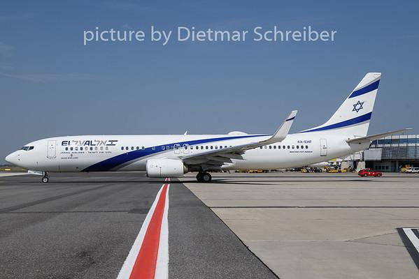 2018-08-08 4X-EHF Boeing 737-900 El Al
