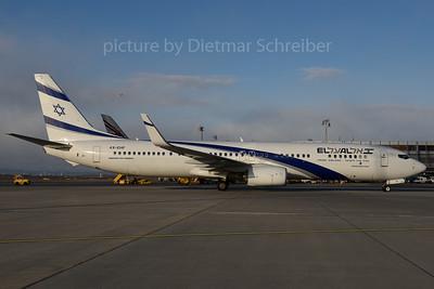 2017-01-06 4X-EHF Boeing 737-900 El Al