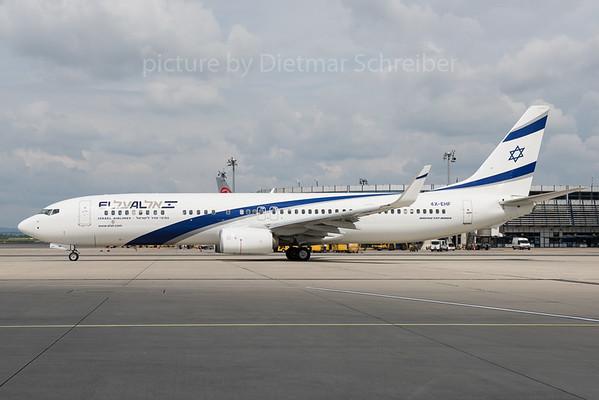 2016-05-16 4X-EHF Boeing 737-900 El Al
