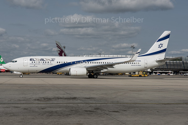 2016-04-06 4X-EHH Boeing 737-900 El AL