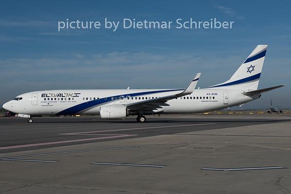 2015-09-22 4X-EHD Boeing 737-900 El Al