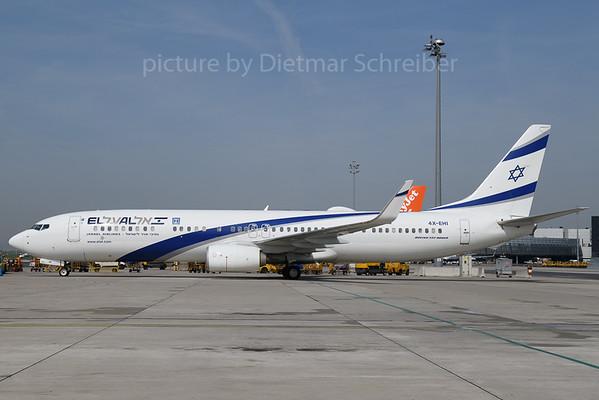 2017-04-23 4X-EHI Boeing 737-900 El Al