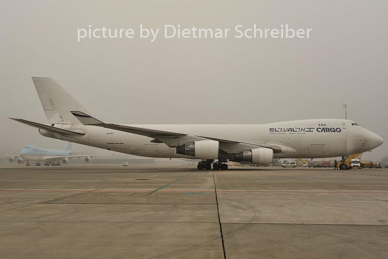 2011-11-15 4X-ELF Boeing 747-400 El Al Cargo