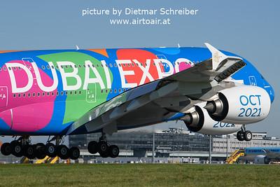 2021-10-15 A6-EEU Airbus A380 Emirates