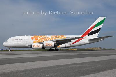 2021-04-28 A6-EOU Airbus A380 Emirates