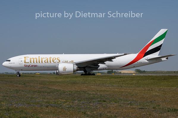 2020-04-22 A6-EFG Boeing 777-200 Emirates