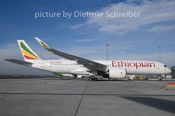 2020-02-17 ET-AWP Airbus A350-900 Ethiopian Airlines
