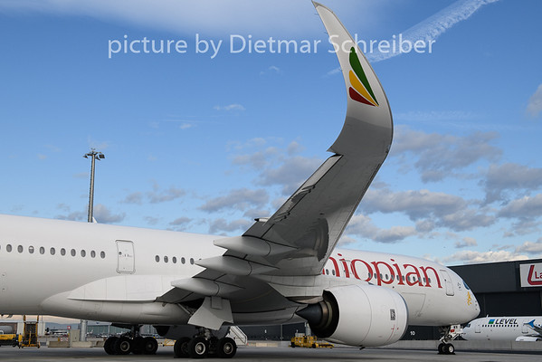 2020-02-10 ET-AWN Airbus A350-900 Ethiopian Airlines