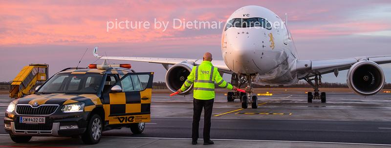 2020-02-13 ET-AVC Airbus A350-900 Ethiopian AIrlines