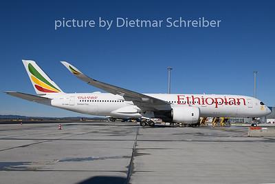 2020-03-02 ET-AUA Airbus A350-900 Ethiopian AIrlines