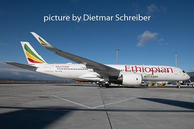 2020-02-14 ET-AVE Airbus A350-900 Ethiopian Airlines
