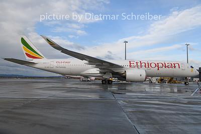 2020-02-11 ET-AVC Airbus A350-900 Ethiopian AIrlines