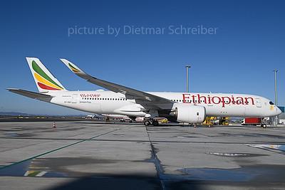 2020-02-20 ET-AUA Airbus A350-900 Ethiopian Airlines