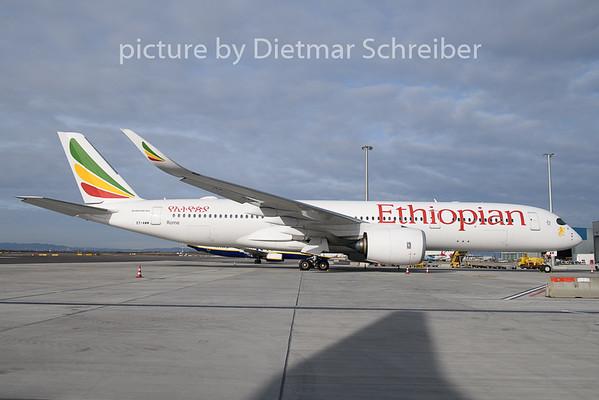 2020-02-06 ET-AWM Airbus A350-900 Ethiopian AIrlines